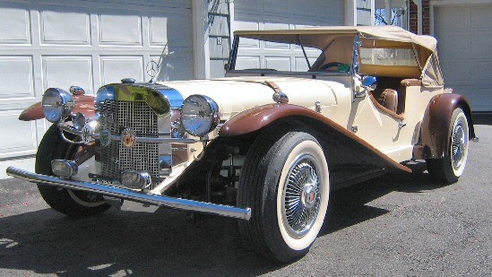1929 Mercedes Gazelle kit car