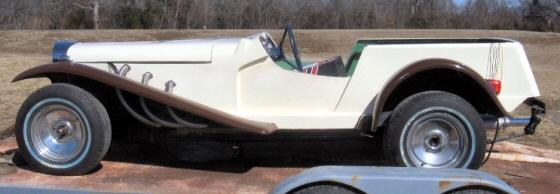 1929 Mercedes Replica Gazelle Kit Car Project