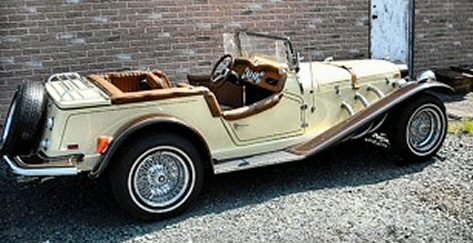 1929 Mercedes Benz Gazelle Replica