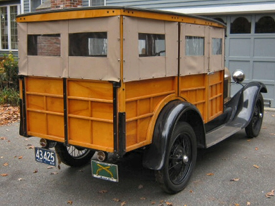 Photo of 1929 Model A Ford Woody Station Wagon