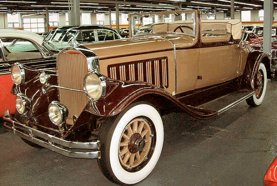 1929 Pierce Arrow Model 133 Convertible