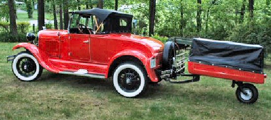 1929 Shay Model A Roadster