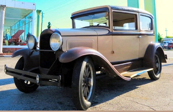 Photo of 1929 Whippet 2 Door Sedan Original Survivor