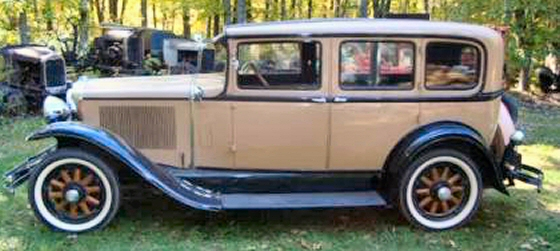 Photo of 1930 Buick 4 Door Sedan Nice Older Restoration