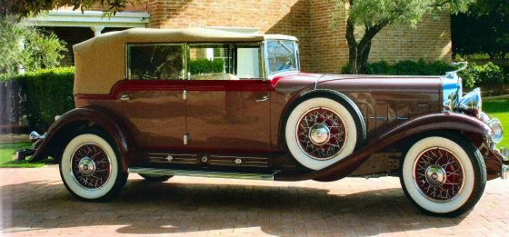 Photo of 1930 CADILLAC ALL WEATHER PHAETON V16 MODEL 4280 1 of 3