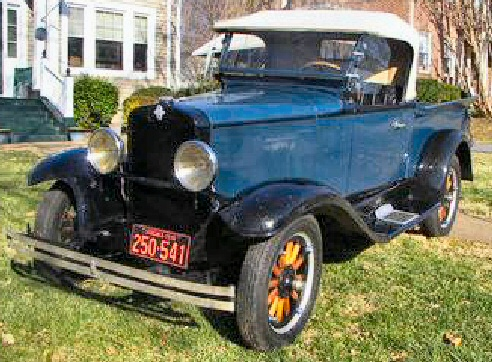 1930 Chevrolet Roadster Pick Up