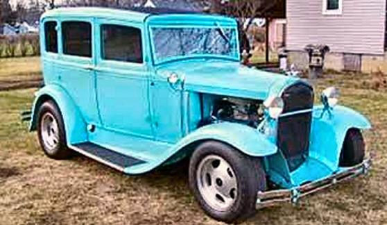 1930 ford 4 door sedan street rod for 1930 chevy 4 door