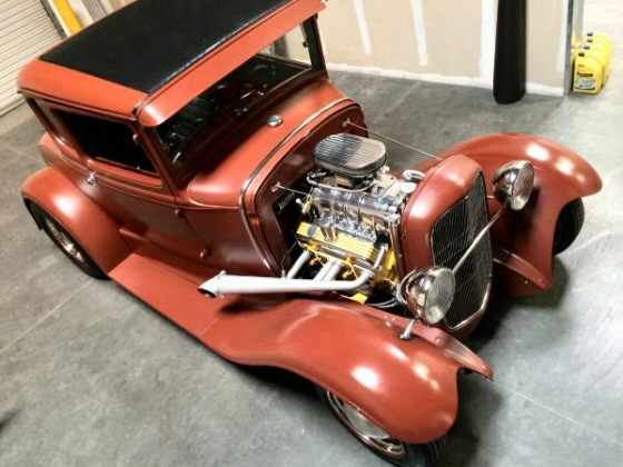 Photo of 1930 Ford 5 Window Coupe Street Rod With Blower