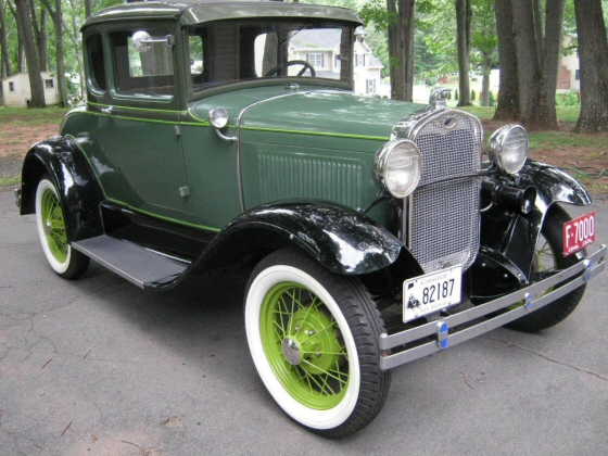 Photo of 1930 FORD MODEL A RUMBLE SEAT COUPE RESTORED FACTORY STOCK