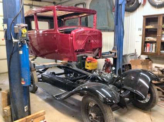 Photo of 1930 Ford Model A 2 DR Sedan Project