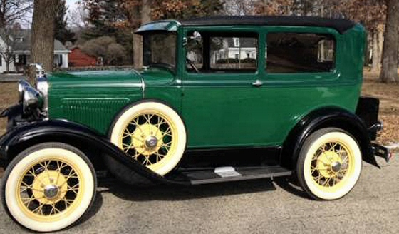 Photo of 1930 Ford Model A 2DR Sedan With Mitchell Overdrive