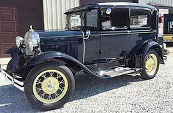 Photo of 1930 FORD MODEL A 2DR Sedan Museum Quality