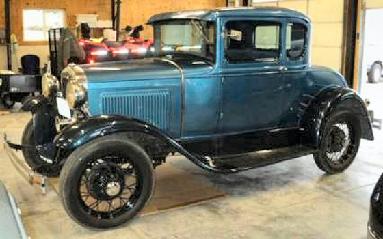 Photo of 1930 Ford Model A 5 Window Coupe