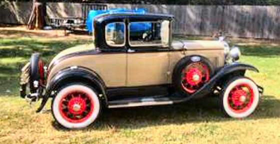 Photo of 1930 Ford Model A Coupe With Rumble Seat