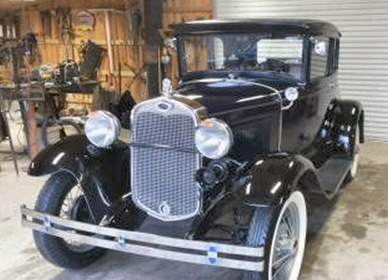 Photo of 1930 Ford Model A Coupe Restored