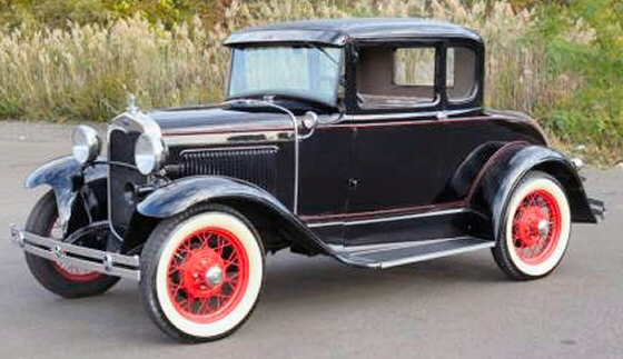 Photo of 1930 Ford Model A Five Window Coupe With Rumble Seat