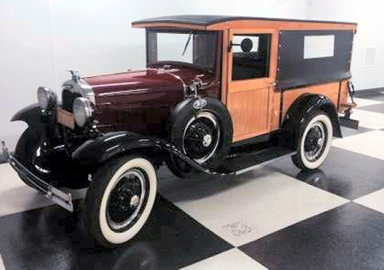 Photo of 1930 FORD MODEL A HUCKSTER DELIVERY WAGON WOODIE COMPLETE RESTORATION