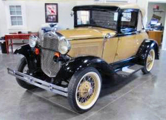 Photo of 1930 FORD MODEL A ROADSTER WITH RUMBLE SEAT