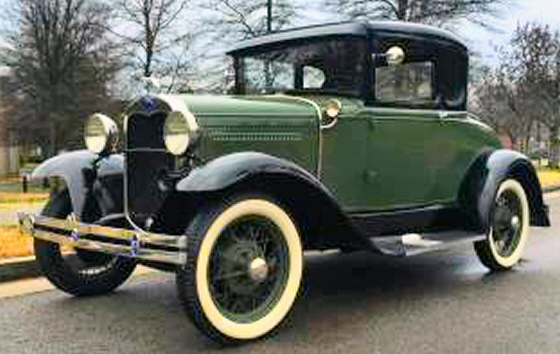 Photo of 1930 Ford Model A Rumble Seat Coupe With Fresh Engine