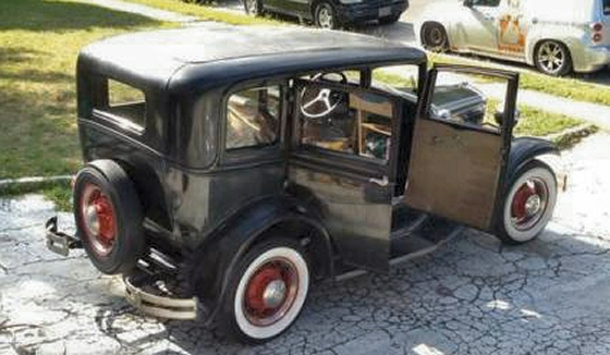 Photo of 1930 Ford Model A Slant Window 4DR Sedan