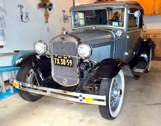 Photo of 1930 Ford Model A Sport Coupe Estate Car