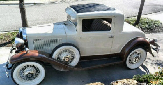 Photo of  1930 Hupmobile Model H All Steel Coupe Original Restored Stock