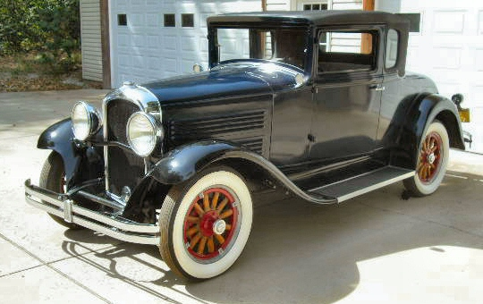 Photo of 1930 Marmon Roosevelt Coupe