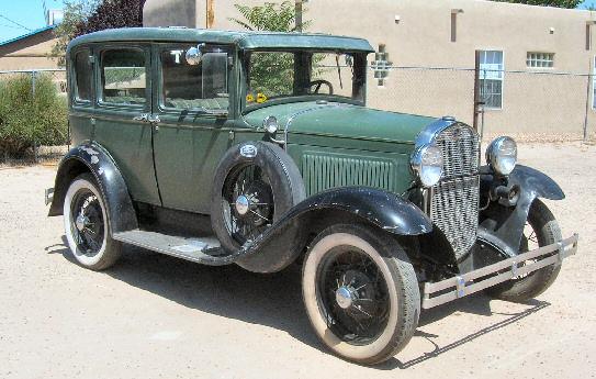 & 1930 MODEL A 4 DOOR SEDAN markmcfarlin.com
