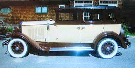 Photo of 1930 REO FLYING CLOUD 4 DR FULLY RESTORED