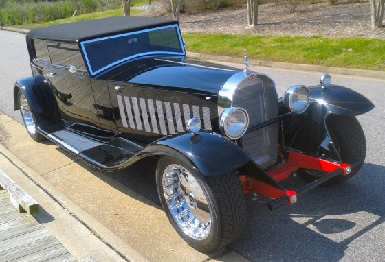 1931 bugatti royale kellner coupe replica