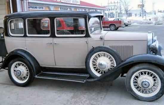 1931 chevy 4dr sedan 1931 Chevy Truck