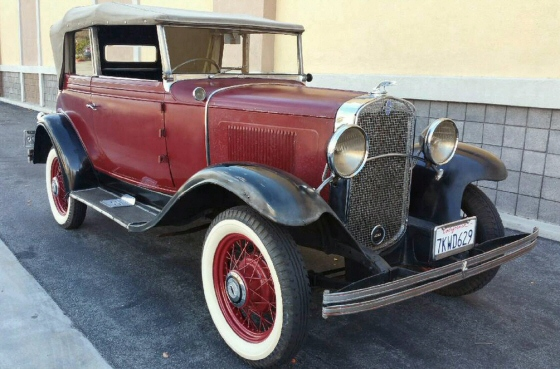 1931 chevy phaeton landau 2 door for 1931 chevy 2 door sedan