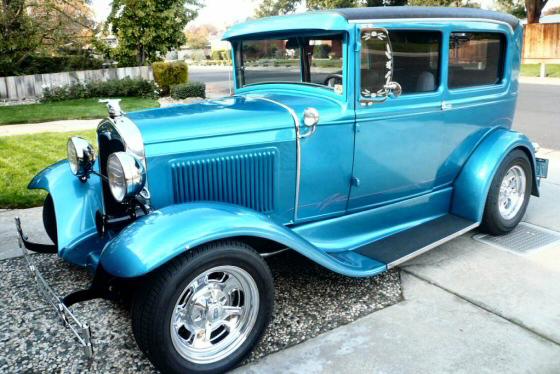 1931 ford model a all steel two door sedan street rod for 1931 ford 2 door sedan