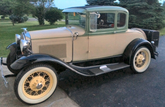 Photo of 1931 Ford 5-window Coupe
