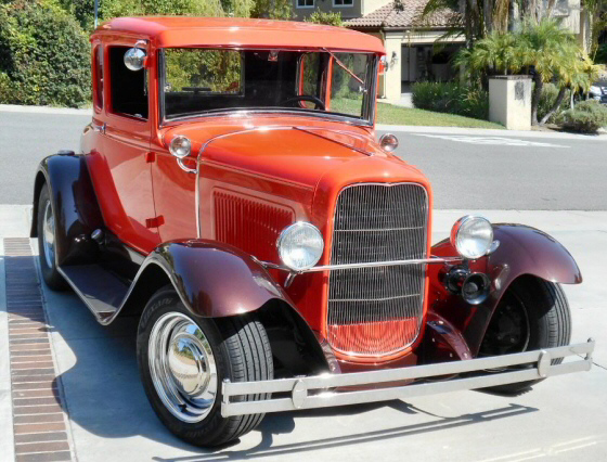 Photo of 1931 Ford Model A 5 Window Coupe All Steel Street Rod