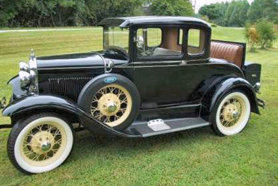 Photo of 1931 Ford Model A 2 DR With Rumble Seat Restored