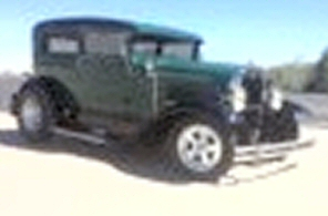 Photo of 1931 Ford Model A  Tudor  Sedan All Steel Chopped Street Rod