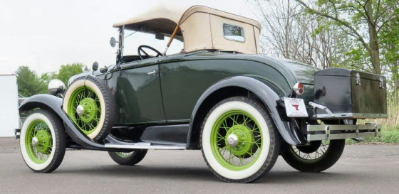 Photo of 1931 MODEL A DELUXE RUMBLESEAT ROADSTER OLDER RESTORATION