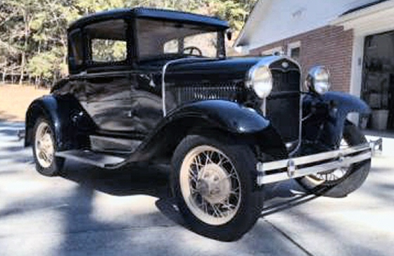 Photo of 1931 Ford Model A 5 Window Coupe with Rumble Seat