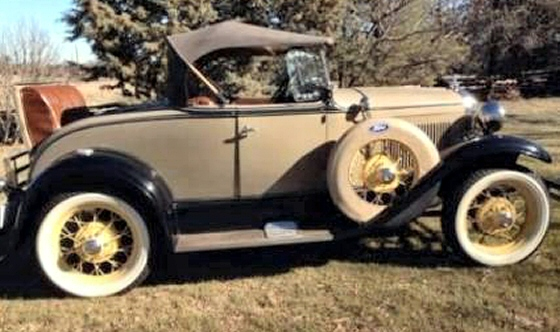 Photo of  1931 FORD MODEL A DELUXE ROADSTER OLDER RESTORATION