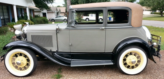 Photo of 1931 Model A Ford Murray Body Leatherback Victoria Restored