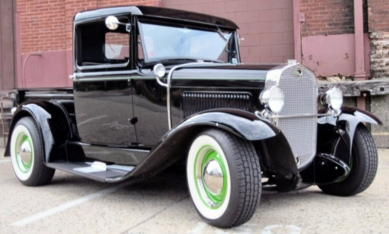 Photo of 1931 Ford Pickup Truck Street Rod With Steel Cab