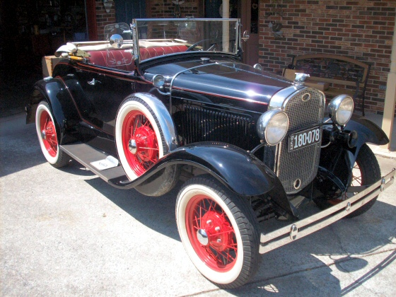 Photo of 1931 Model A Ford Roadster Beautiful Restoration