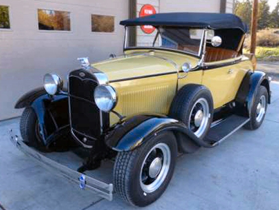 Photo of 1931 Ford Model A Roadster Steel Street Rod