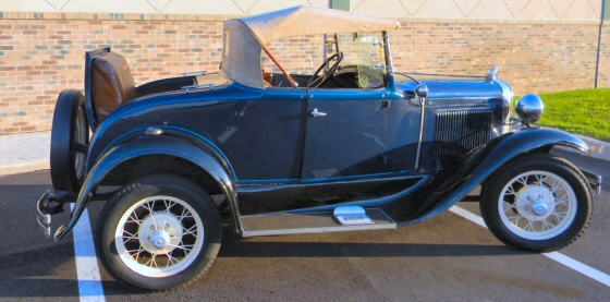 Photo of 1931 FORD STEEL MODEL A ROADSTER RESTORED STOCK