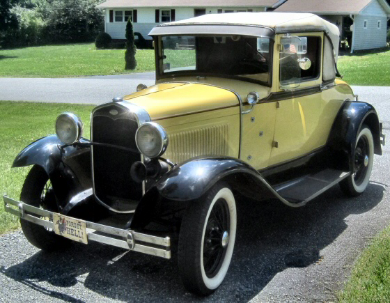 Photo of  1931 Ford Model A Sport Coupe With Rumble Seat