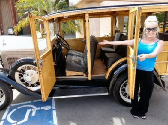 Photo of 1931 Ford Model A Woodie Stationwagon Restored