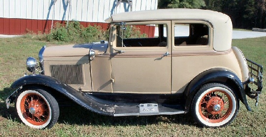 Photo of 1931 Ford Model A Victoria  Tudor