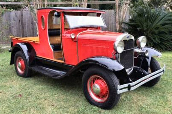 Photo of 1931 FORD MODEL A WOODIE HUCKSTER TRUCK