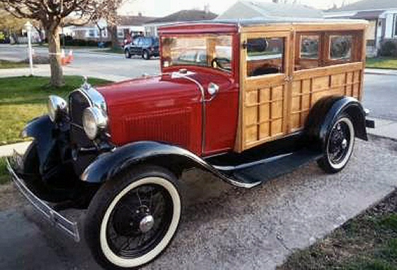 Photo of 1931 Ford Model A Rare Huckster Woody Wagon